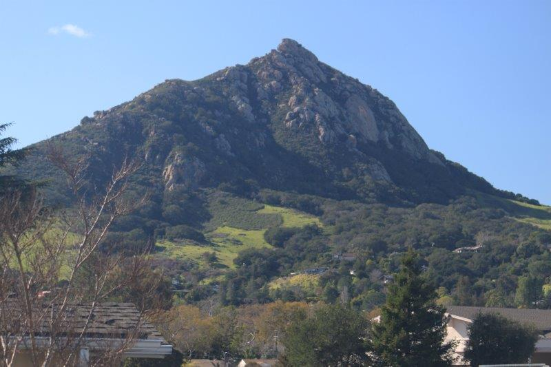 View From Ferrini Village Shows Bishop Peak Mountain In The Distance